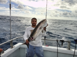 Nilson and his amber jack