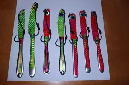 Herbert HansMuller knife jigs home made vertical jig