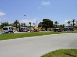 Food Truck Vendors at Haulover Marina Parking Lot