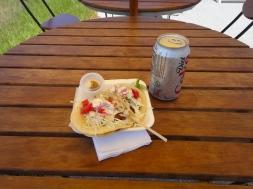 Food at Haulover Marina Parking Lot