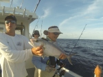 BNZ with a small Amber Jack on Vertical Jig