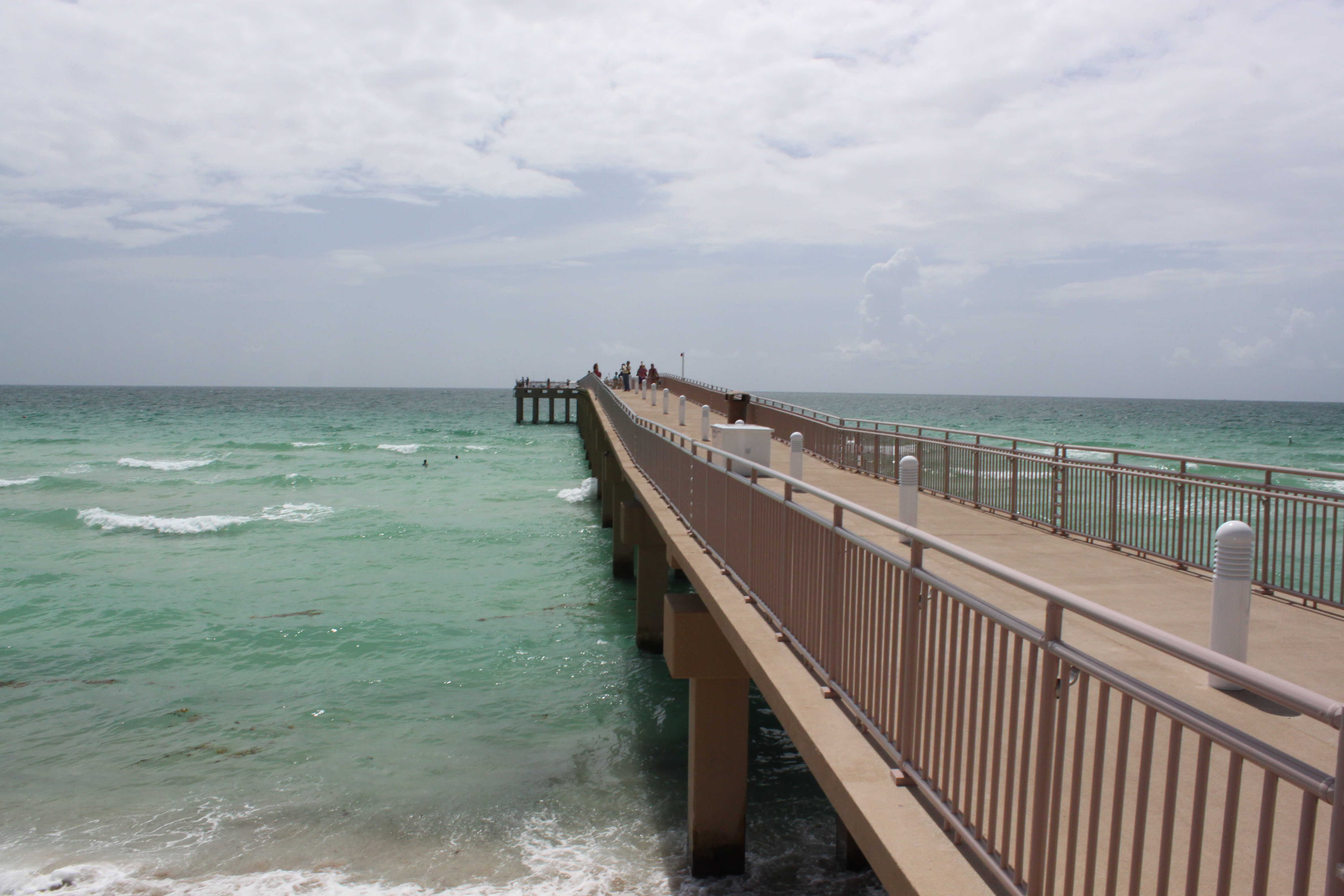 Newport pier in miami dade opened june 15th 2013 for Miami fishing piers
