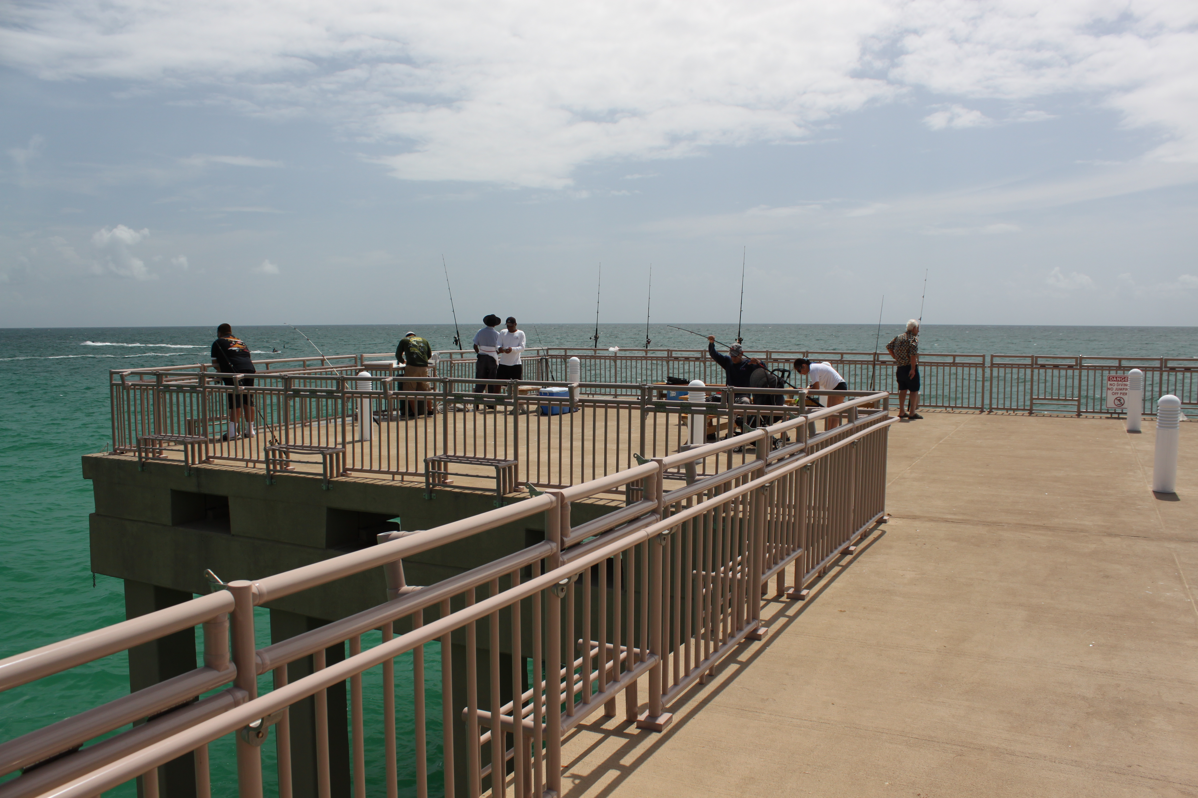 Newport pier in miami dade opened june 15th 2013 for Newport pier fishing