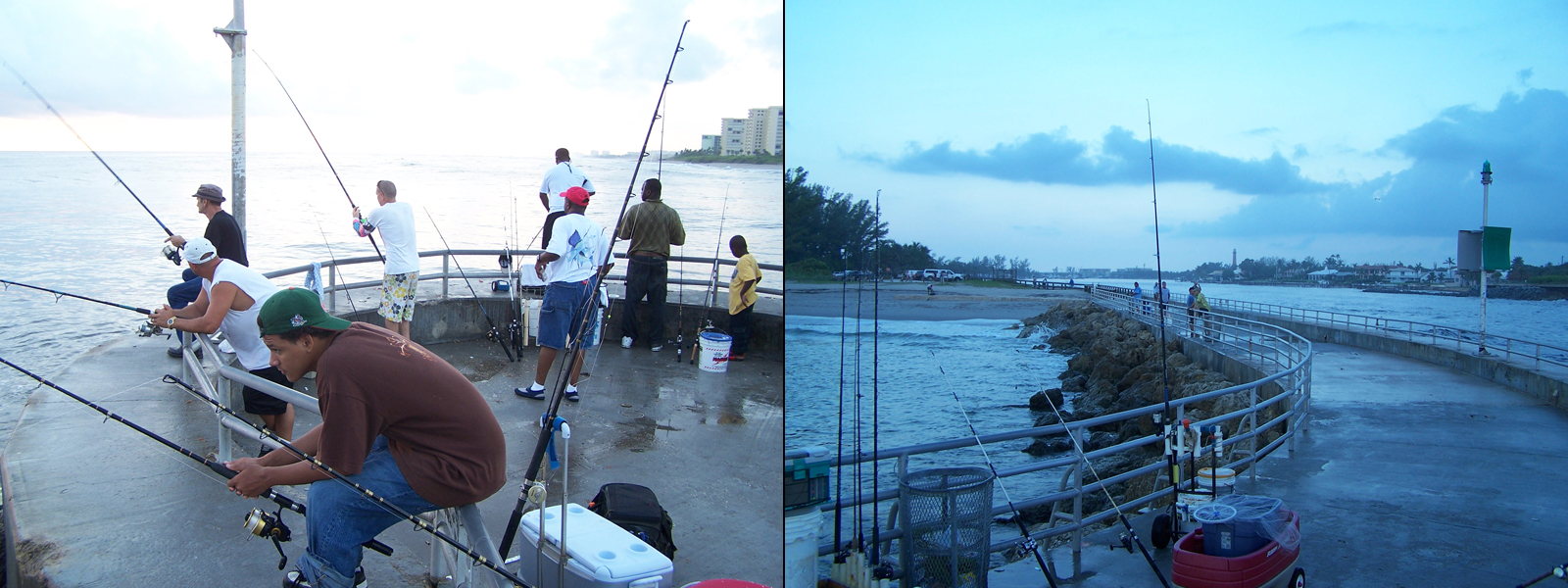 Fishing from jetties in south florida shorebound adventures for Sebastian inlet fishing pier