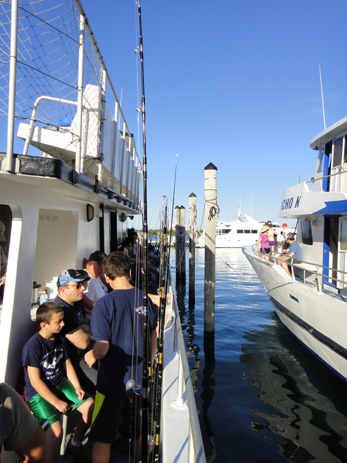 Tips for party boat fishing in south florida shorebound for Party boat fishing florida