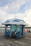 Shelter at the T of Anglins Pier