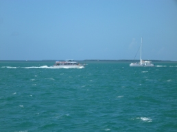 Key West tourist boats
