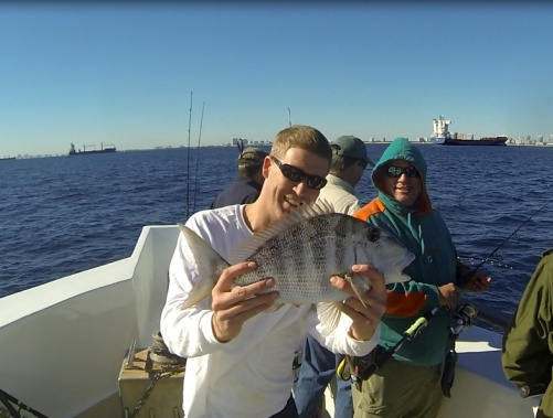 Russ' Porgy Sealegs III 1-19-14