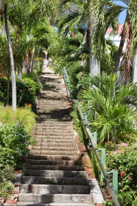 99 steps St Thomas