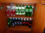 Part of the allowed 12 soft drinks per person
