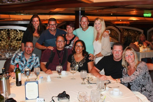 Carnival Freedom Last Group dinner