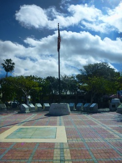Key West Sunset Square Monument
