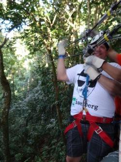 La Marqueza Forest in Puerto Rico-ziplining