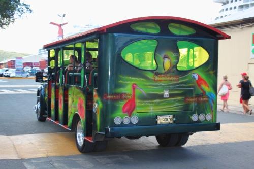 St Thomas passenger truck
