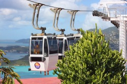 St Thomas Skyride to Paradise