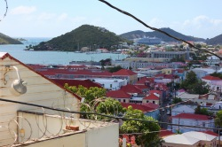 view from 99 steps St Thomas 2