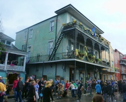 balconies in New Orleans 3