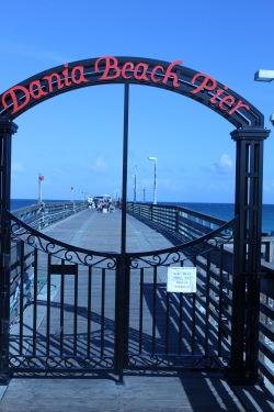 Dania Pier entrance