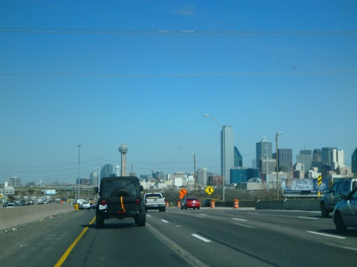 Near downtown Dallas