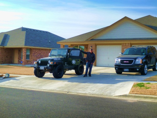 Seth and Jeep