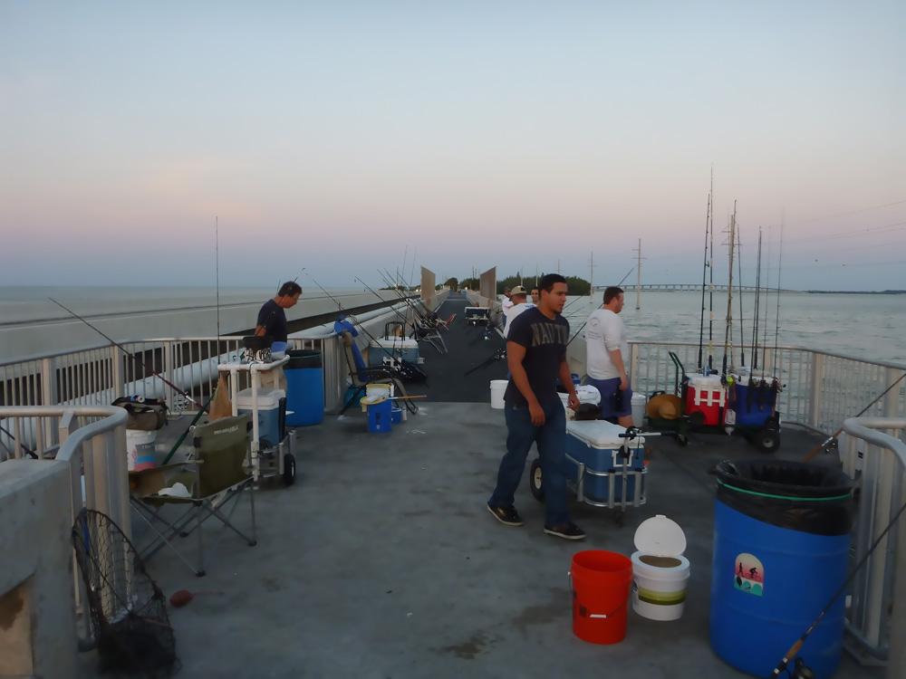 Bridge Fishing in Channel 2 Florida Keys 4-26-14 | ShoreBound Adventures