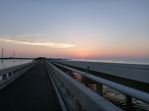 Sunrise in Channel 2 Florida Keys
