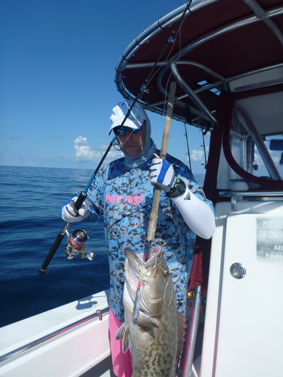 Panama city beach grouper madness 8 10 14 shorebound for Panama city beach party boat fishing