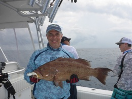 Naples Middlegrounds fishing on Findictive 10-10-15