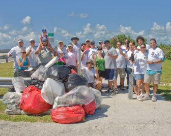 Channel 2 clean up April 2009 group pic